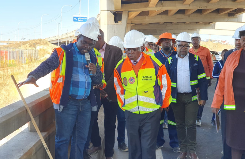 Khato Civils Hailed For Quality Works On Jozi Bridge