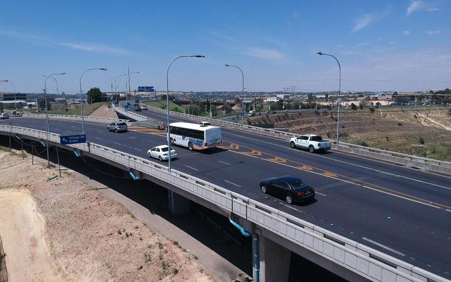 M1 bridge refurbishment now completed