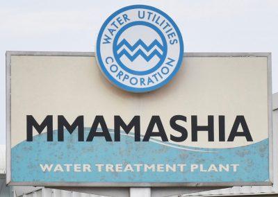 Mmamashia Water Treatment Plant Project