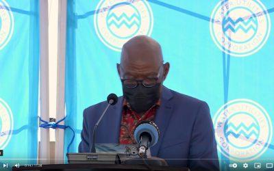 Mr Phiri speech 100km pipeline opening