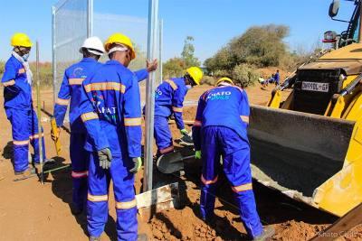 Khato Civils' Masama 100km Pipeline Project starts