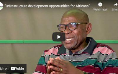Infrastructure development opportunities for Africans